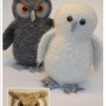 Highly Detailed Knitted and Felted Patterns
