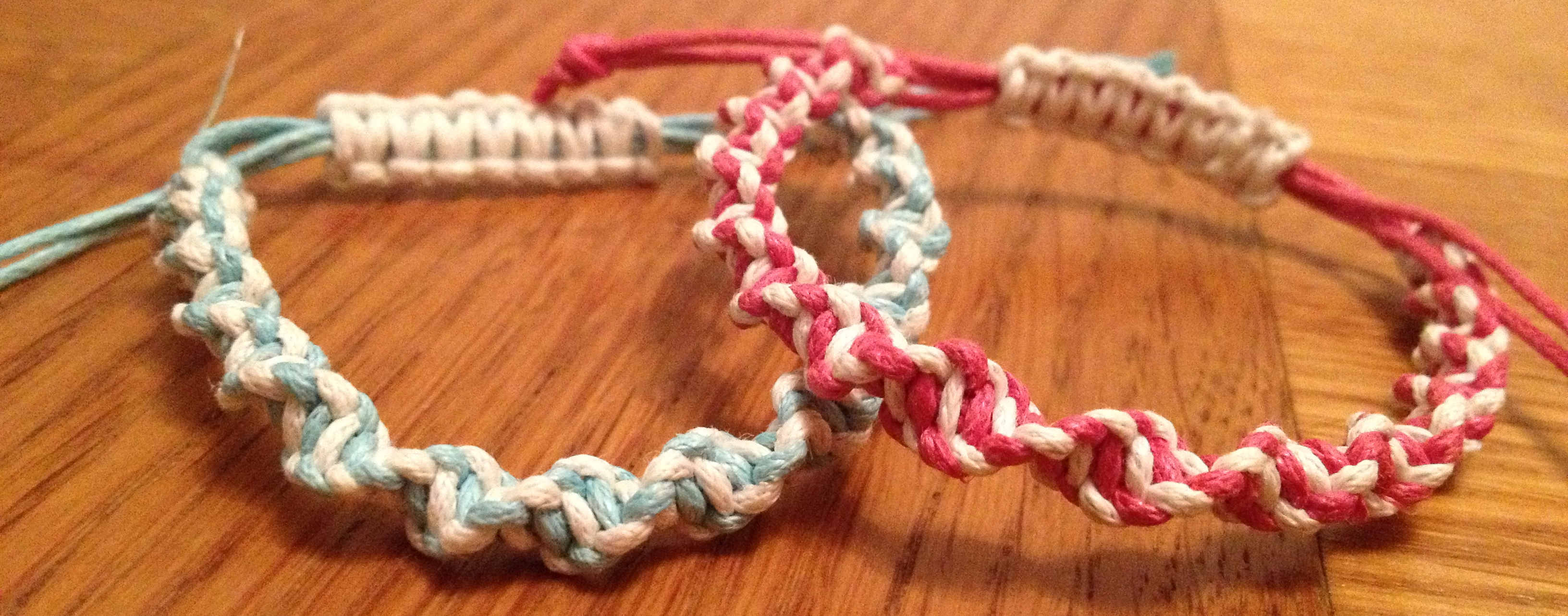 Personalized macrame bracelets heart handmade blog for Handmade craft ideas to sell