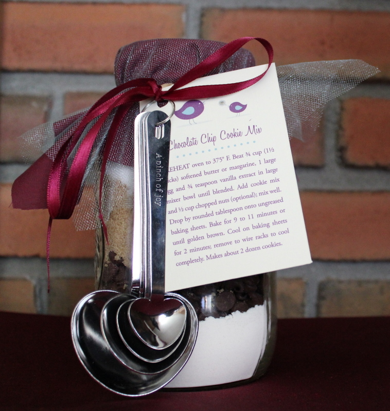 Wedding Shower Gift Diy : Handmade Bridal Shower Mason Jar Cookie Mix Favors Handmade Jewlery ...