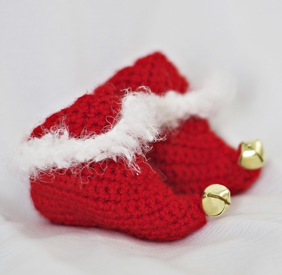 Adult Elf Slippers - AllFreeCrochet.com - Free Crochet Patterns