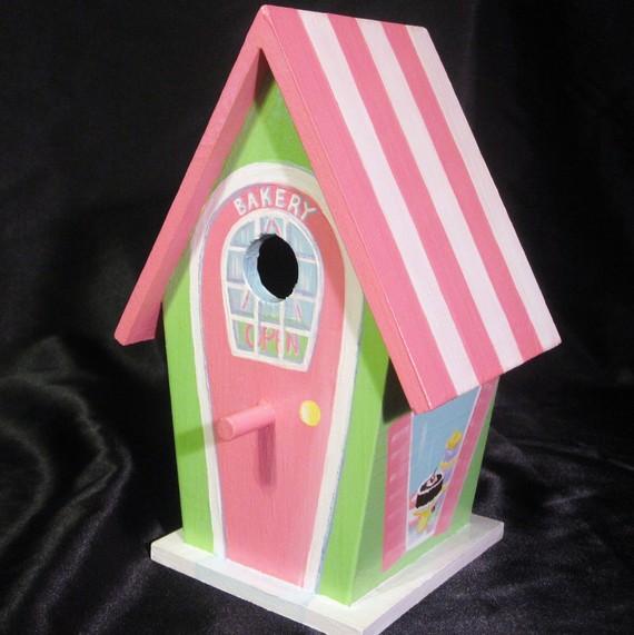 Hand Painted Bird Houses Ideas