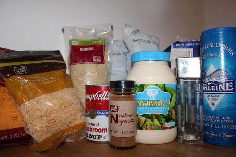 broccoli quinoa casserole ingredients
