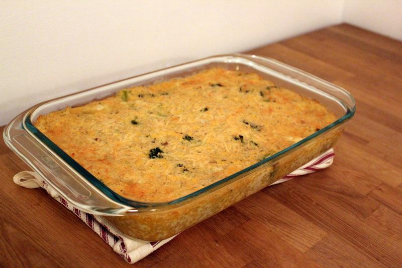recipe for broccoli quinoa casserole